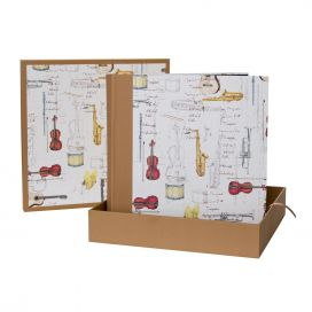 Álbum Caja Instrumentos Ocre