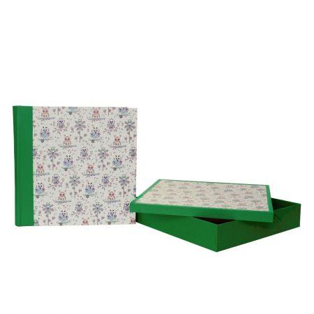Álbum Caja Búho Flores