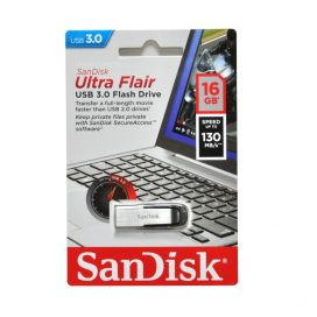 Memoria USB 16GB Sandisk 3.0 Ultra Flair