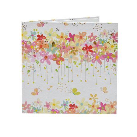 Díptico Flores 15x15