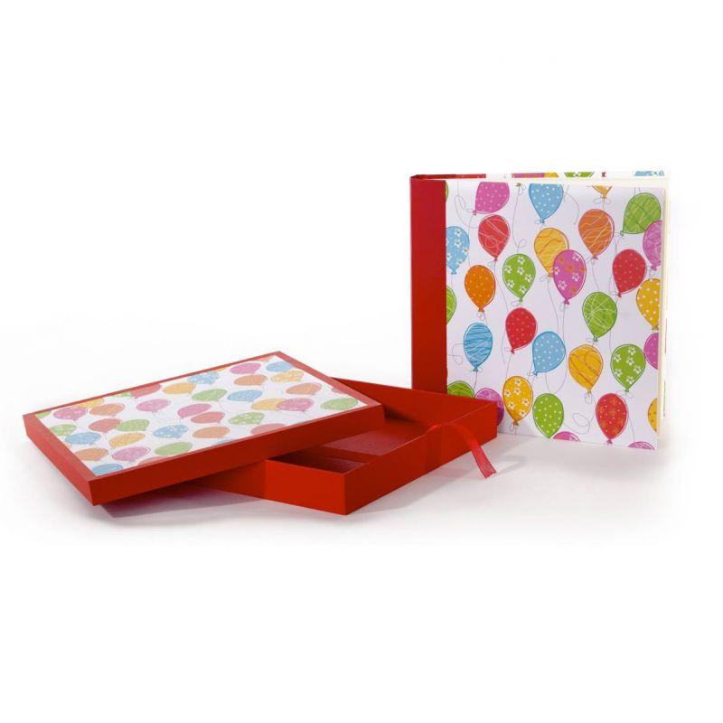 Álbum Caja Infantil Globos