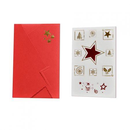 Recordatorio Navidad Estrella Roja