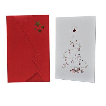 Recordatorio Navidad Árbol 10x15