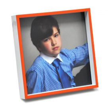 Portafoto PVC Naranja