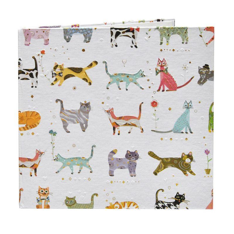 Díptico Gatos 15x15