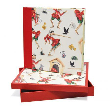 Álbum Caja Pinocho Rojo