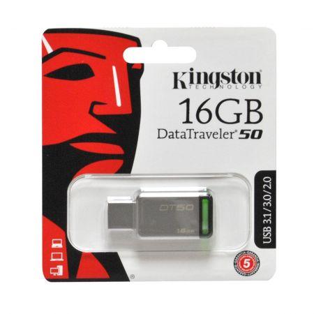 Memoria USB 16GB DT50 Kingston