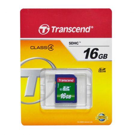 Tarjeta SD 16GB Clase 4 Transcend