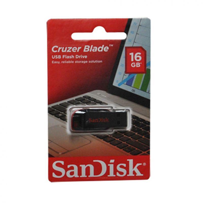 Memoria USB 16GB Sandisk Cruzer Blade