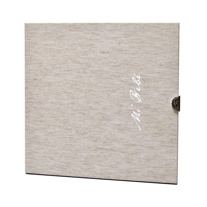 Álbum Lucía Digital Lino 25x25 con Caja