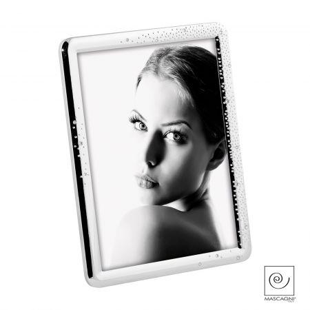 Portafoto Metal Brillo Cristales A1060