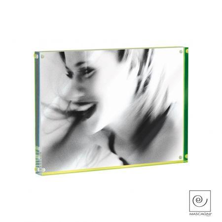 Portafoto Metacrilato Verde A849