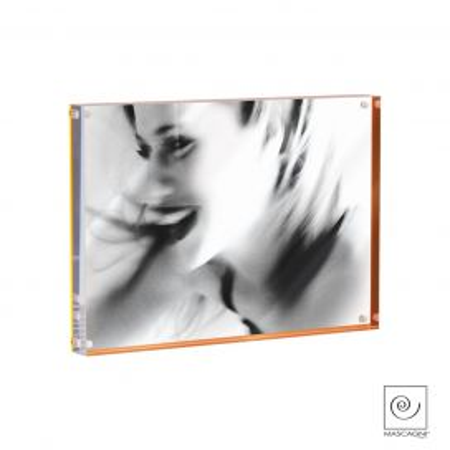 Portafoto Metacrilato Naranja A849
