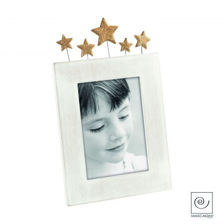 Portafoto Madera Estrellas A1199