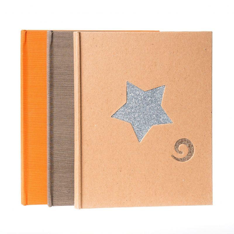 Desplegable Estrella Espiral 15x20