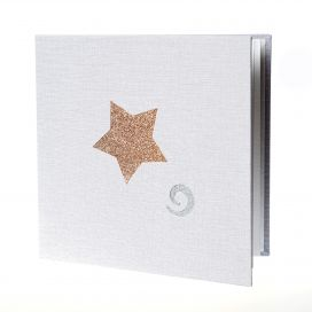 Álbum Desplegable Granito Navidad Estrella Espiral 15x15