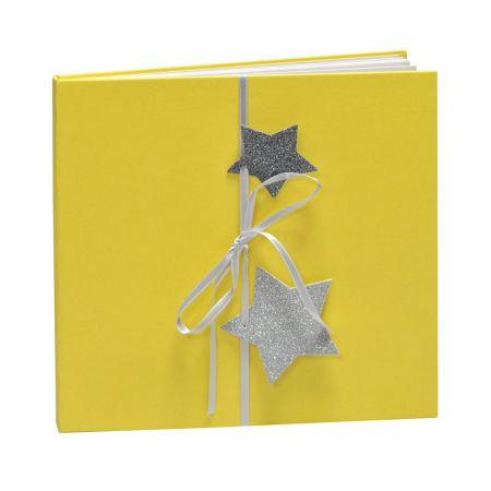 Álbum Predigital Navidad Amarillo Estrellas