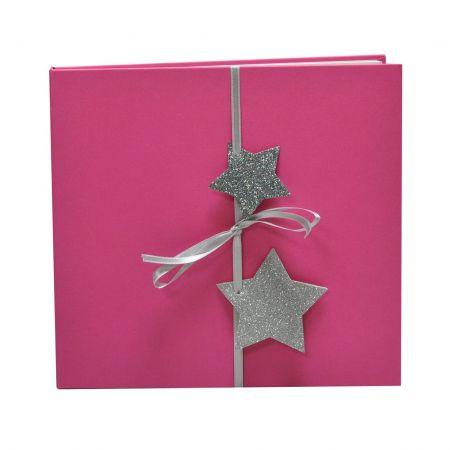 Álbum Predigital Navidad Rosa Estrellas