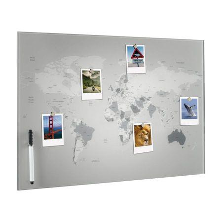 Mapamundi Decoración Fotos A1313
