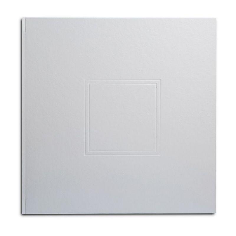 Álbum Analógico Blanco Troquel Cuadrado