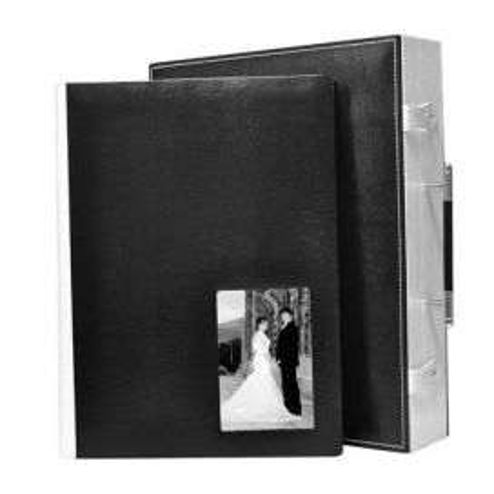 Álbum Boda Digital Comby Negro-Blanco