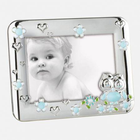 Portafoto Infantil Búho Flores