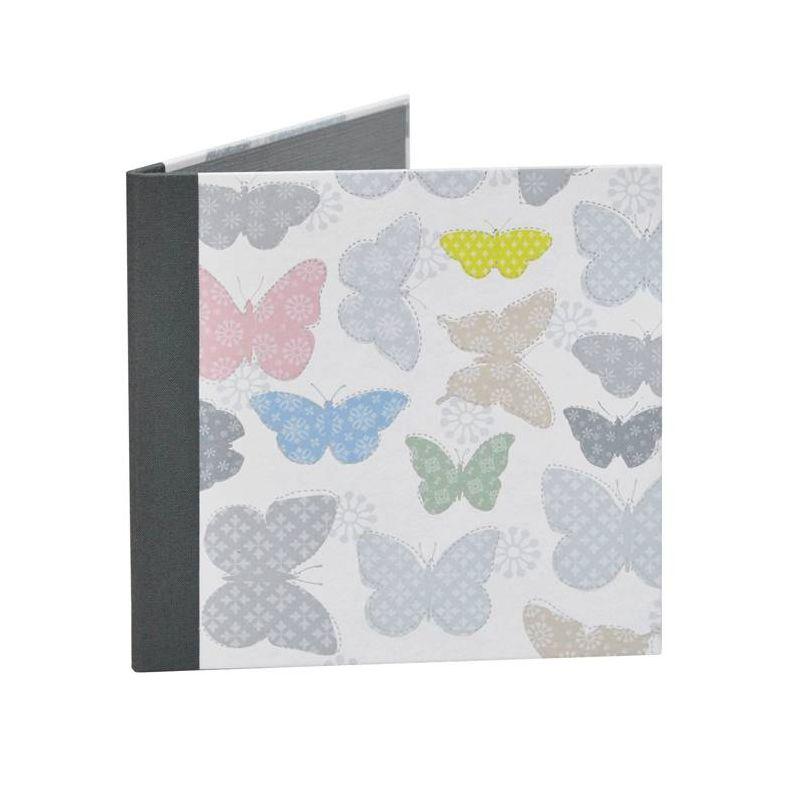 Díptico Comunión Infantil Mariposas