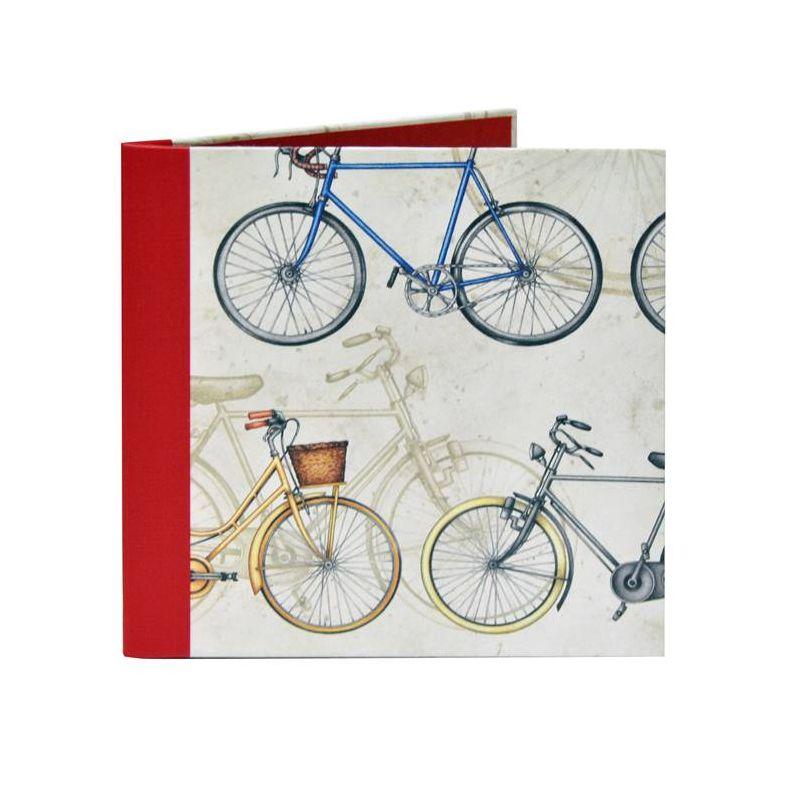 Díptico Recordatorio Bicicletas 15x15