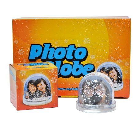 Portafotos Bolas Nieve