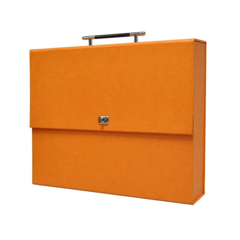 Maleta Álbum Box Naranja