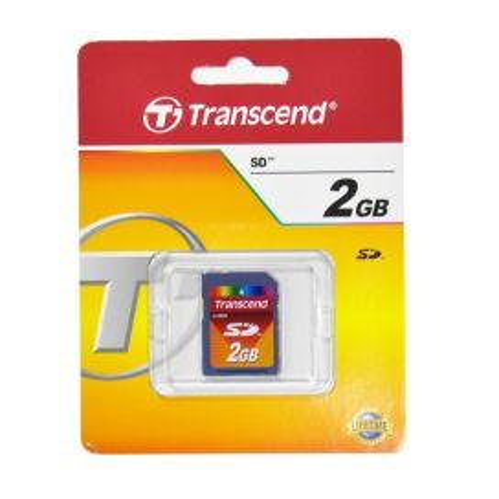 Tarjeta SD 2GB Transcend