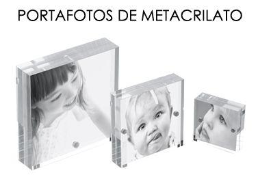 Portafotos de Metacrilato